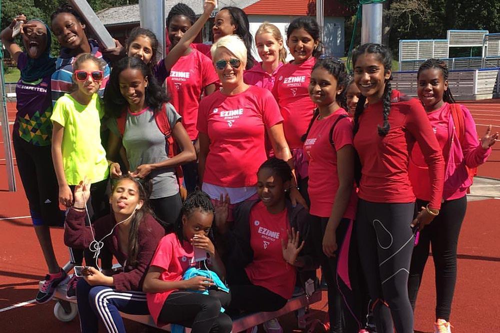 Ezinne Athletics - Treningsleir i Mandal - 01-03.08.2016