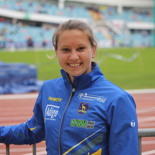 Trener Ezinne Athletics - Karoline Weea Johansen